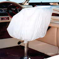 Taylor Made Helm/Bucket Seat Cover- White Vinyl