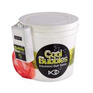 Cool Bubbles 8QT Plastic Bucket w/B-11 Pump and Net