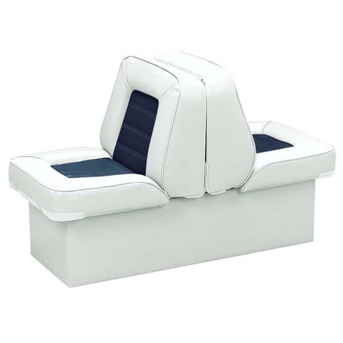 Wise Boat Seats Deluxe Two Tone Back To Back Bucket Style Lounge Seat