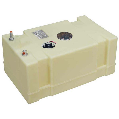 Moeller 19 Gallon Below Deck Permanent Marine Fuel Tank