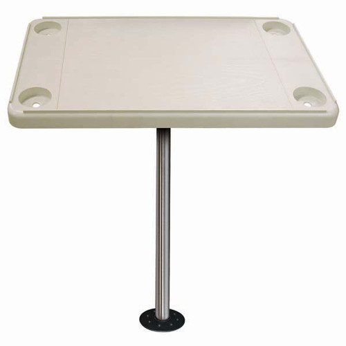 JIF Rectangular Table Kit w/ Recessed Flushed Mount - Ivory