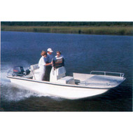 """Square Bow Bay Boat 21'6"""" to 22'5"""" Max 96"""" Beam"""