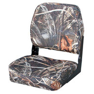 Wise Low Back Camouflage Fold Down Seat