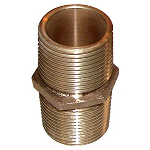 Groco Bronze Pipe Nipple