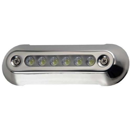 Attwood Underwater Oval Led Light Stainless Steel - 5""