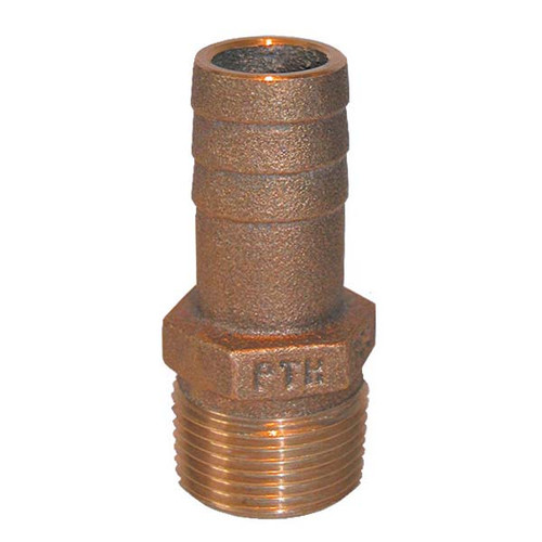 Groco pipe to hose bronze fitting
