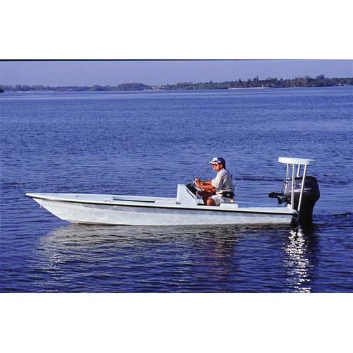 "Flats Boat 19'6"" to 20'5"" Max 96"" Beam"