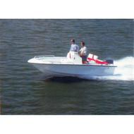 "V-Hull Bay Boat 20'5"" to 21'4"" Max 102"" Beam"