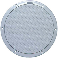 "Beckson Non-Skid Dimple 6"" Pry Out Marine Deck Plate"