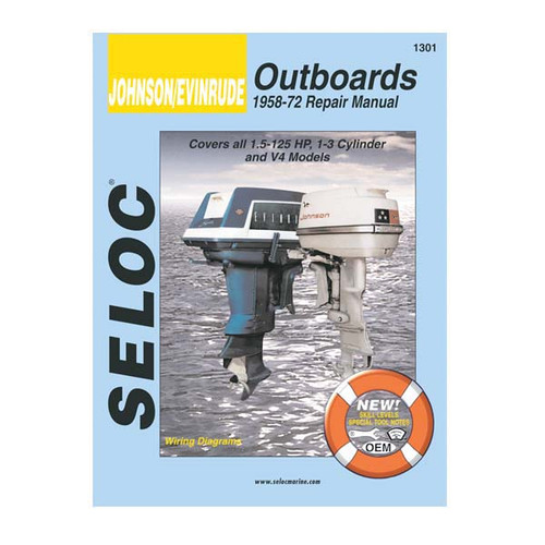 Selco Service Manual, Johnson-Evinrude, 1958 - 1972