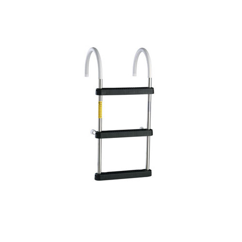"Garelick Stainless Steel Ladder With 11"" Hook"