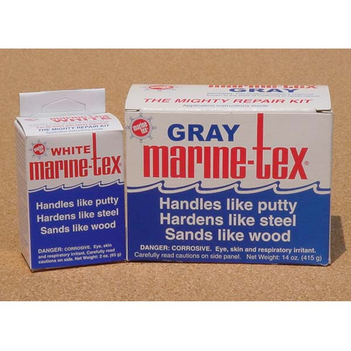 Marine Tex Epoxy Putty Repair Kit Gray