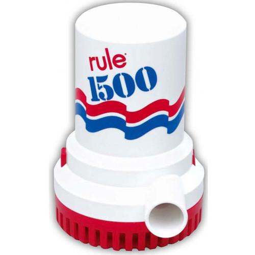 Rule Non-Automatic 12 Volt Bilge Pump With 1-1/8'' Discharge