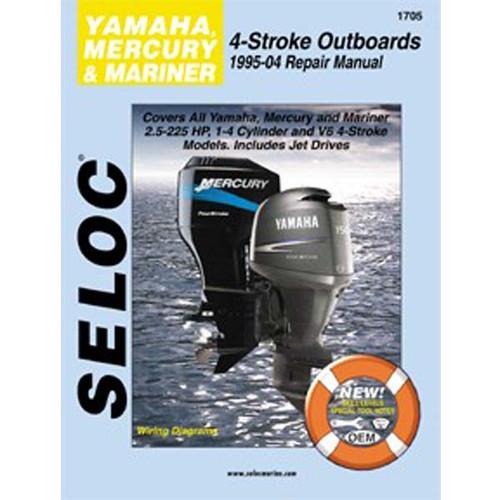 Seloc Service Manual, Yamaha, Mercury, Mariner 4 Stk 95-04