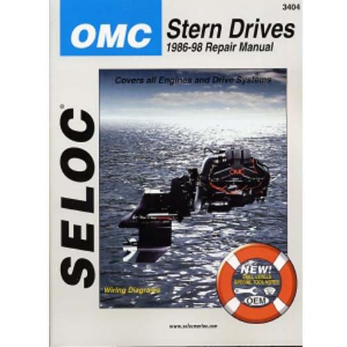 Seloc Service Manual, Omc Cobra Sterndrive 1986 - 1998