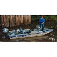 "Modified V-Hull Bass Boat 16'5"" to 17'4'' Max 85'' Beam"