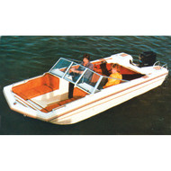 """Tri-Hull Outboard 14'5"""" to 15'4"""" Max 84"""" Beam"""