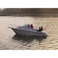 "Euro Walk Around Outboard 22'5"" to 23'4"" Max 102"" Beam"
