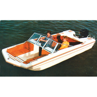 """Tri-Hull Outboard 15'5"""" to 16'4"""" Max 80"""" Beam"""