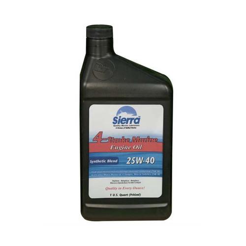 Sierra 25w 40 Synthetic Blend Engine Oil
