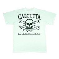 Calcutta Short Sleeve Tee, White with Origial Logo