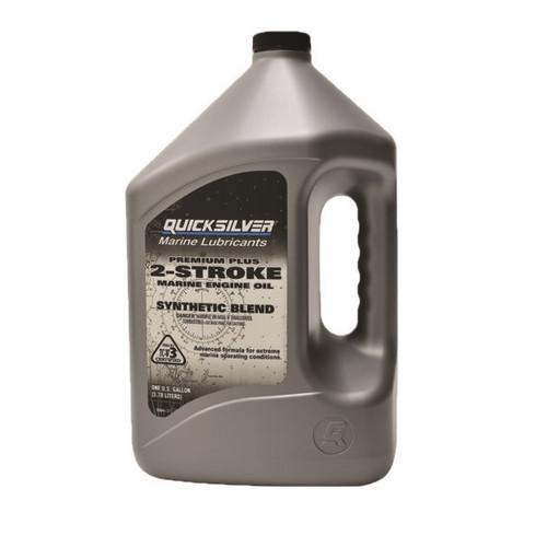 Quicksilver Premium Plus Synthetic Blend 2 Stroke Oil 92-858027Q01