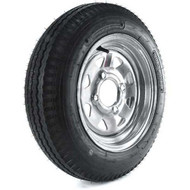 "Loadstar 480-12 4 Lug 12"" Bias Trailer Tire - Galvanized Load B"