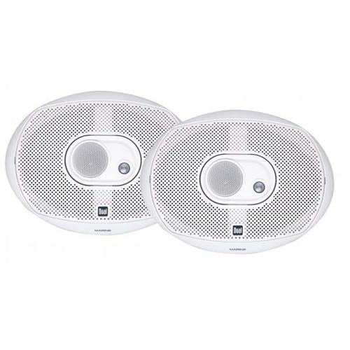 Dual Marine 6x9 Speakers 200W 3-Way