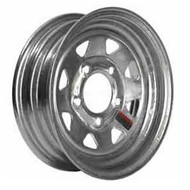 "Loadstar 5 Lug 12"" Rim Only - Galvanized"