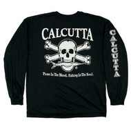 Original Logo Long Sleeve T-Shirt By Calcutta