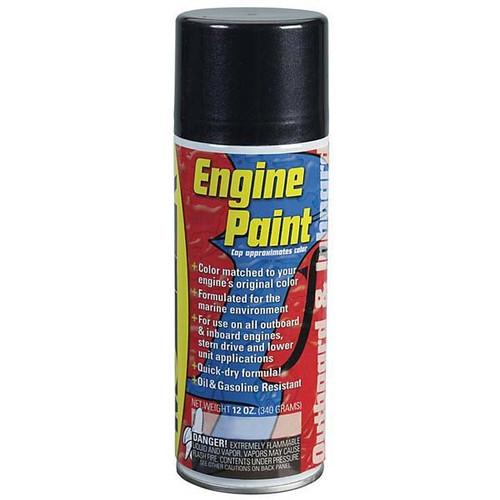 Moeller Marine Engine Paint - Mercury