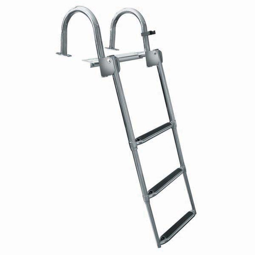 JIF Premium Stainless Rear-Entry Ladder