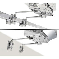 Magma Dual Extended Square/Flat Side Rail Mount