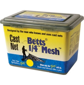 """Betts Cast Net W/ 1/4"""" Mesh Clear Mono"""