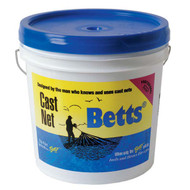 "Betts #26 Super Pro Heavy Mono 6' Cast Net 3/16"" Mesh"