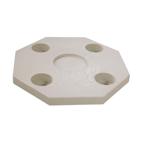 JIF Octagonal Table Top Only - Ivory