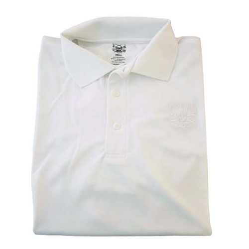 White Technical Polo Shirt By Calcutta