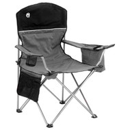Cooler Quad Black & Gray Chair By Coleman