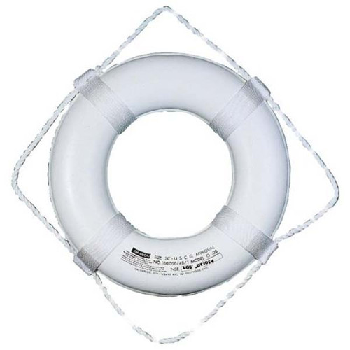 """Taylor Made 20"""" White Foam Ring Buoy"""
