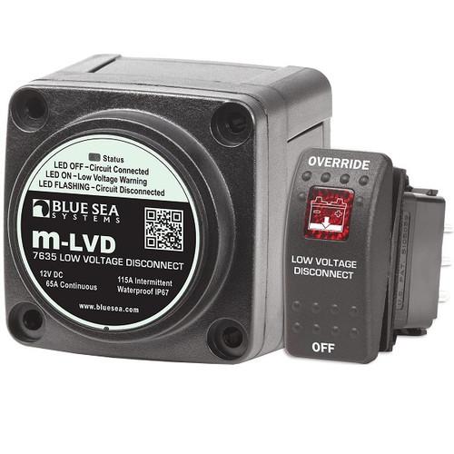 Blue Seas Systems m-LVD Low Voltage Disconnect