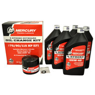 Mercury Marine 75/90/115 hp 4-Stroke EFI Oil Change Kit