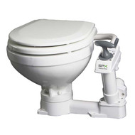 Johnson AquaT Compact Manual Marine Toilet