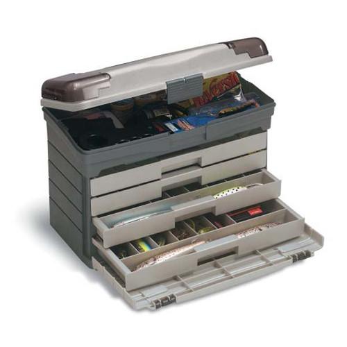 Plano Grey/Sandstone 4-Drawer Tackle Box