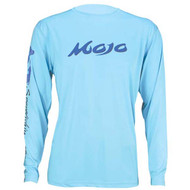 Mojo Wireman Long Sleeve Shirt - Lite Blue