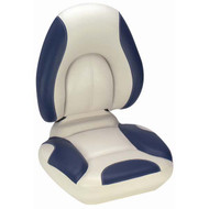 Attwood SAS Centric Fully Upholstered Seat - Off-White Base Color