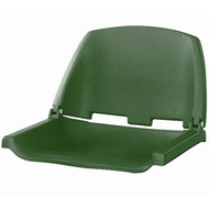 Wise Boat Seats Folding Plastic Seat - Green Shell
