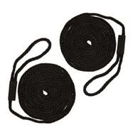 Softlines Boat Fender Line - Pair - Black