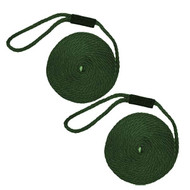 Softlines Boat Fender Line - Pair - Hunter Green