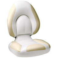 Attwood Centric Fully Upholstered Seat - Bright White Base Color