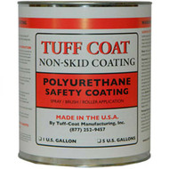 Tuff Coat Smooth Rubberized Deck Coating - Gallon